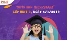 Tuyển sinh lớp tiếng anh GrapeSeed cho bé 4 ~ 5 tuổi tại Hà Nội