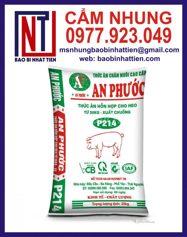 Bao pp dệt đựng thức ăn gia súc gia cầm