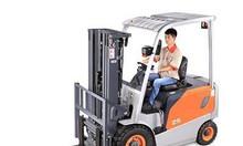 Xe nâng điện ngồi lái zowell 1500kg-3000kg