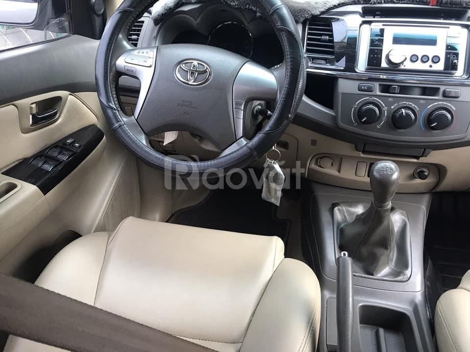Cần bán gấp Toyota Fortuner 2012 máy dầu (ảnh 5)