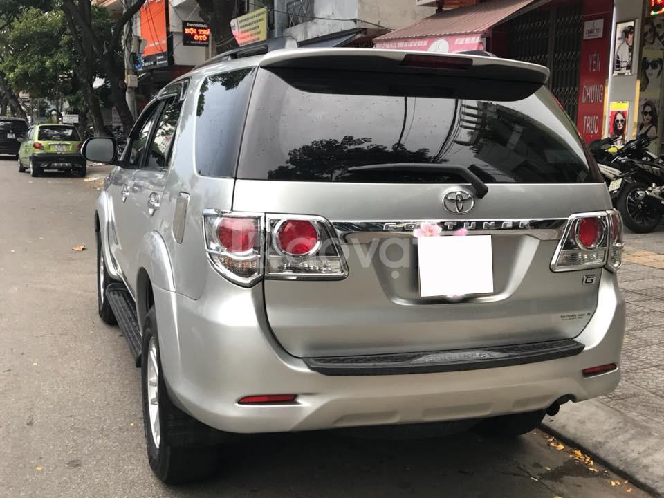 Cần bán gấp Toyota Fortuner 2012 máy dầu (ảnh 7)