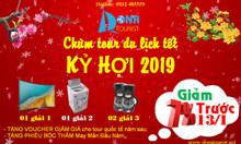 Chùm tour du xuân trúng thưởng tết Kỷ Hợi 2019