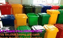 Thùng rác 120 lít, thùng rác công cộng 240 lít