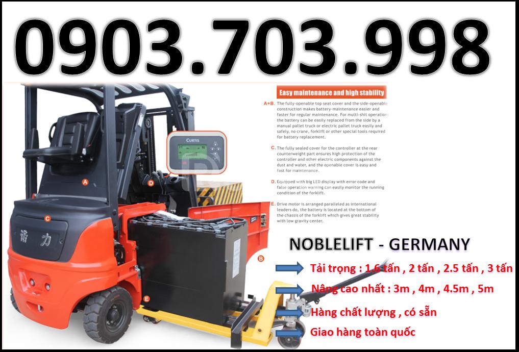 Phân phối sỉ và lẻ xe nâng điện ngồi lái 2000kg 3 mét