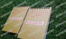 Sản xuất sổ tay ghi chú, in sổ tay lò xo note, sổ tay giá rẻ