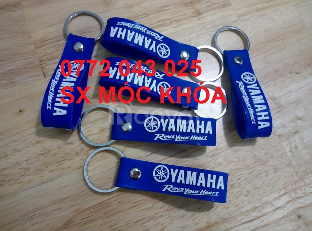 Xưởng sản xuất móc khóa nhựa dẻo Yamaha sợi dây