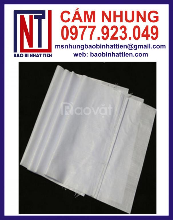 Đơn vị cung cấp bao pp dệt, bao bì PP dệt, bao pp trắng (ảnh 1)