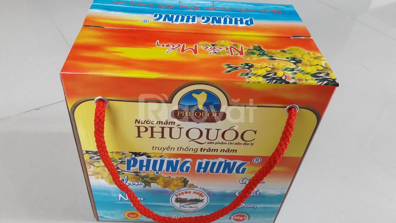 Nước mắm Phú Quốc Phụng Hưng sỉ & lẻ - TPHCM