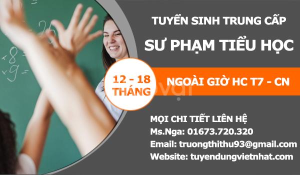 Tuyển sinh trung cấp sư phạm tiểu học TPHCM 2019