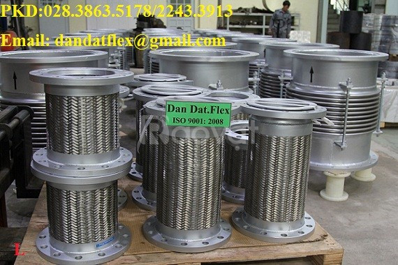 Ống mềm chống rung (khớp nối mềm inox chống rung) giá cạnh tranh