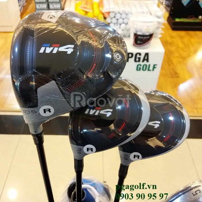Bộ gậy golf Taylormade M4 lefthand chính hãng model 2018