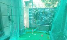Thi công phòng tập golf mini theo yêu cầu