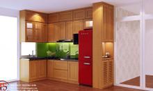 Tủ bếp gỗ sồi Nga tủ bếp Trường Sơn