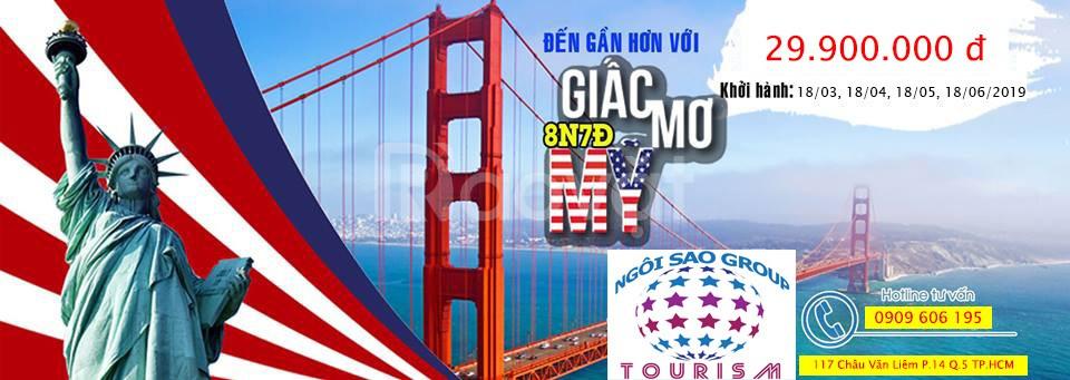 Du lịch Mỹ dễ đậu Visa - thăm thân từ 1-2 tháng