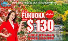Air Asia mở chặng bay đến Fukuoka chỉ từ $130