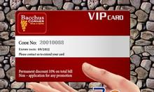 Homax in thẻ nhựa thẻ nhân viên, thẻ vip card giá rẻ tại Hà Nội