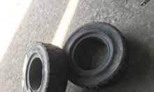 Vỏ đặc xe nâng cũ, lốp xe nâng cũ cao su đặc