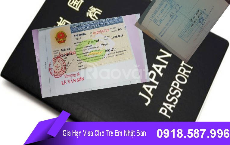 Gia hạn visa cho trẻ em Nhật Bản