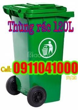 Chuyên bán bỏ mối sỉ lẻ thùng rác 120l, 240l giá rẻ chất lượng
