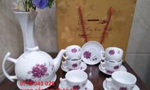 Đặt in bộ ấm chén trà làm quà tặng tết cho kháchhàng đặt in bộ ấm chè