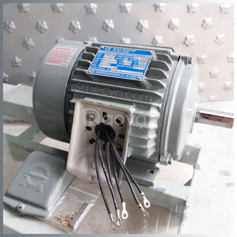 Động cơ điện,động cơ liền hộp giảm tốc SMEC - Hàn Quốc