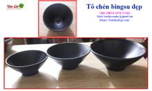 Đũa đen, chén đĩa Hàn Nhật, chén bingsu, khay sushi các loại