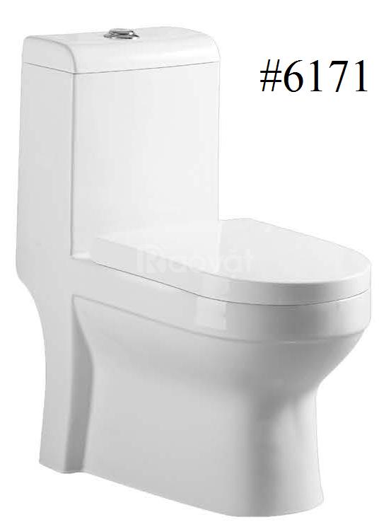 Mua bồn cầu tặng lavabo