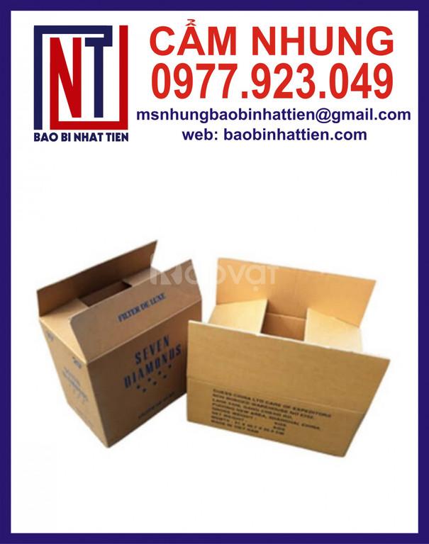 Nhà máy chuyên cung cấp thùng carton 3 lớp, 5 lớp, 7 lớp giá rẻ