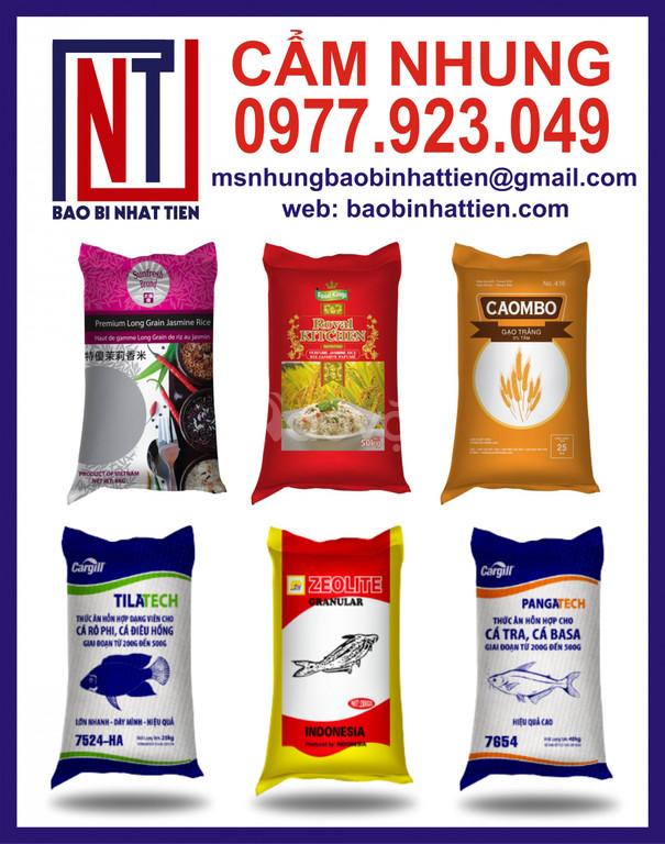Bao gạo 40kg, sản xuất bao bì gạo (ảnh 6)