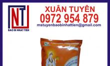 Bao bì gạo 1kg ép 3 biên