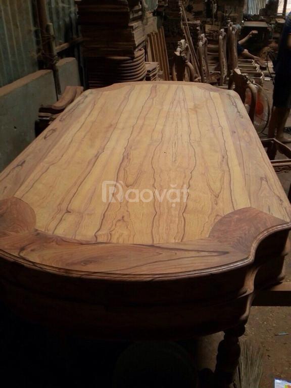 Bộ bàn ghế ăn (gỗ cẩm)