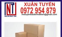 Thùng giấy carton giá rẻ tại Đồng Nai