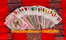 Bộ tiền 52 tờ của 28 quốc gia