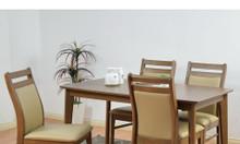 Bộ bàn ăn cao cấp - ghế bọc nệm - hàng xuất Nhật