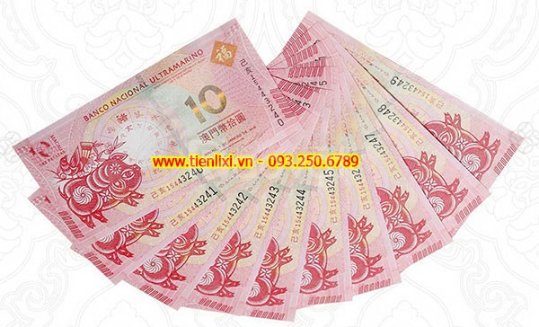 Tiền con heo macao 10