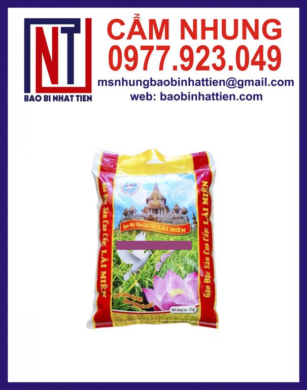 Bao gạo 40kg, sản xuất bao bì gạo (ảnh 4)