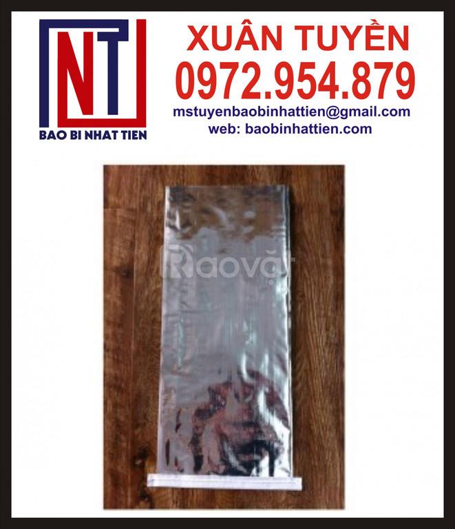 Bao bì PP dệt ghép màng metalize không in (ảnh 5)