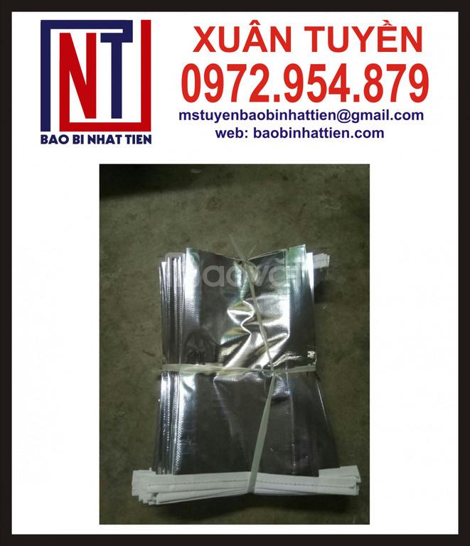 Bao bì PP dệt ghép màng metalize không in (ảnh 1)
