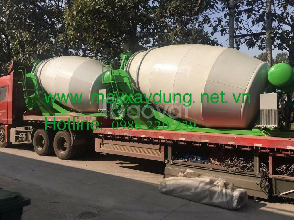 Bồn trộn bê tông mini - hàng nhập khẩu bán toàn quốc