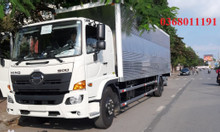 Xe tải hino fc thùng kín hỗ trợ trả góp 90%