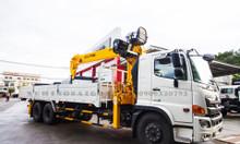Bán xe tải Hino FM8JW7A 2018 gắn cẩu Soosan 8 tấn SCS746L