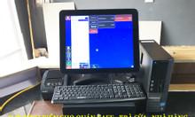 Lắp máy tính tiền cảm ứng cho quán café-trà sữa tại An Giang