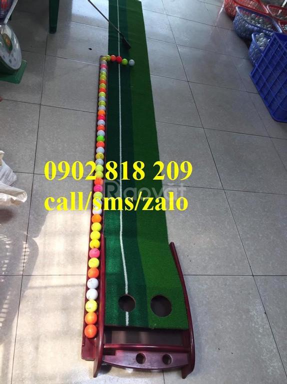 Thảm tập golf + gậy golf + bóng golf giá rẻ