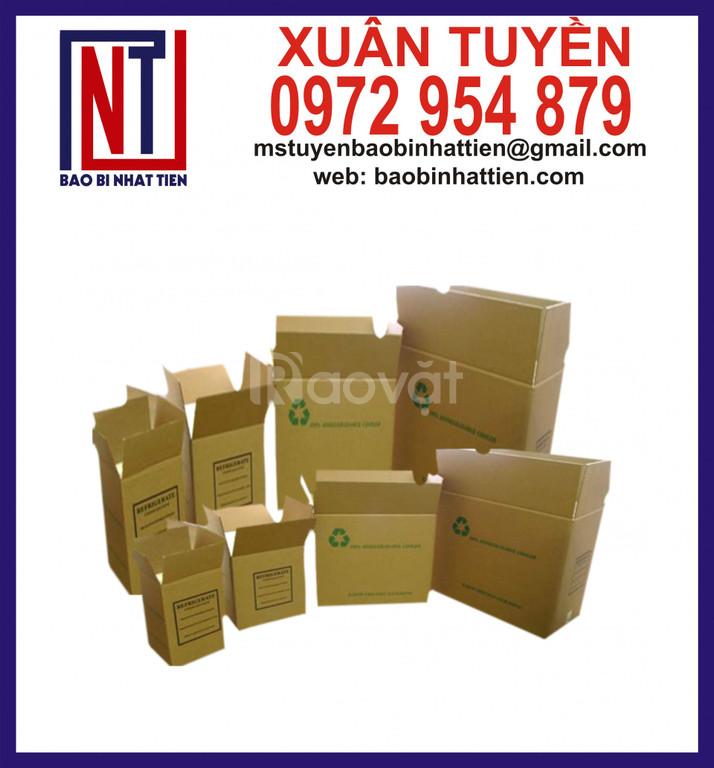 Thùng carton đóng hàng, thùng carton 3 lớp