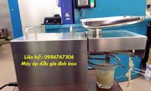 Máy ép dầu gia đình, máy ép dầu lạc mini cho hộ gia đình giá rẻ