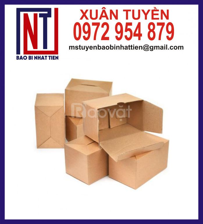 Thùng carton đựng linh kiện điện tử, hàng xuất khẩu