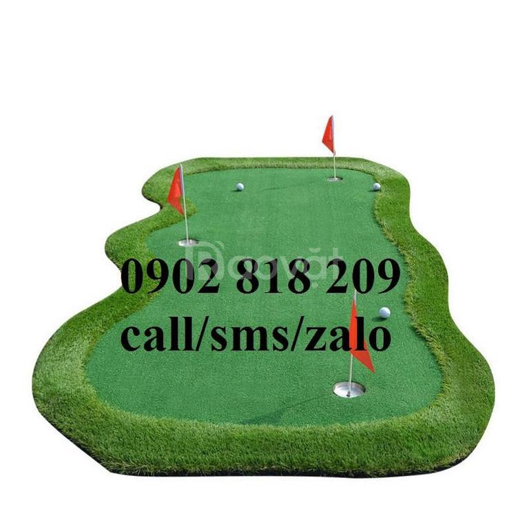 Cờ golf inox cho Green Golf trong nhà
