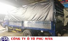 Xe tải jac 2t4, jac 2t4 thùng bạt, jac 2tan4