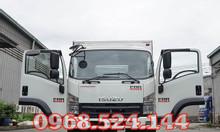Xe tải isuzu FRR 6 tấn thùng thùng kín dài 6m7, động cơ euro4