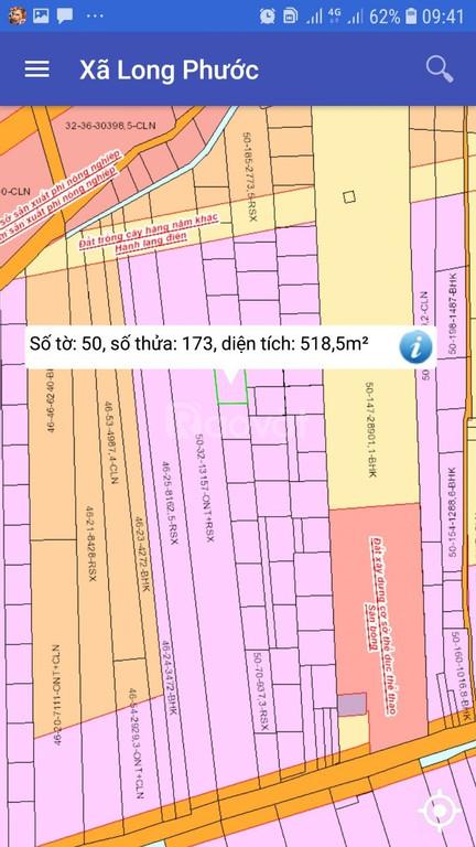 Bán đất gần sân bay Long Thành, sổ đỏ, khu DC hiện hữu